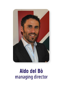 Aldo del Bò managing director Kaspersky