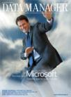 Pietro Scott Jovane, Microsoft, in una copertina di Data Manager