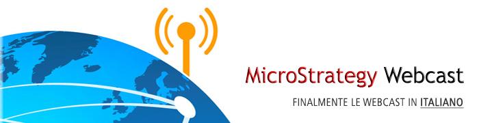 MicroStrategy Webcast