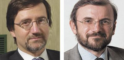 Gian Paolo Balboni (Telecom Italia) e Orazio Viele (Gruppo Engineering)