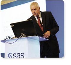 Jim Goodnight CEO e fondatore di SAS