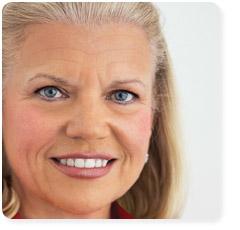 """Virginia """"Ginni"""" Rometty chairwoman e CEO di IBM"""