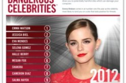 È Emma Watson la celebrità più pericolosa nel cyberspazio del 2012 secondo i ricercatori McAfee