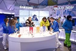 Samsung Galaxy Note 3 e Galaxy Gear protagonisti sulle piste delle migliori destinazioni sciistiche europee