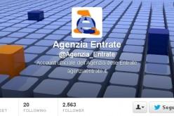 L'Agenzia delle Entrate sbarca su Twitter con nuove info