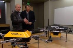 Amazon: una flotta di droni per consegnare pacchi in mezz'ora