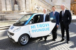 Car2Go arriva a Roma con 300 vetture green