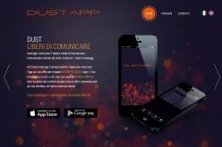 """DustApp """"polverizza"""" i messaggi per la tua sicurezza"""