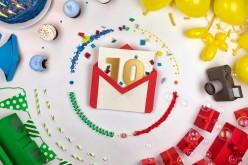 Gmail festeggia 10 anni di successi