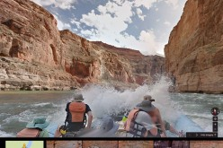 Google Street View: rafting sul fiume Colorado