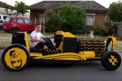 SAMP: il VIDEO della prima auto di LEGO alimentata ad aria compressa