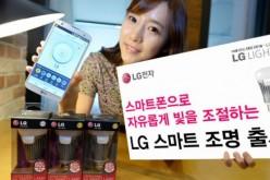 Anche LG ha la sua lampadina SMART
