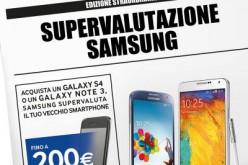"""Al via l'iniziativa """"Samsung Supervaluta"""" dedicata a GALAXY S4 e GALAXY Note 3"""