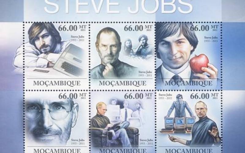 Steve Jobs diventa un fancobollo