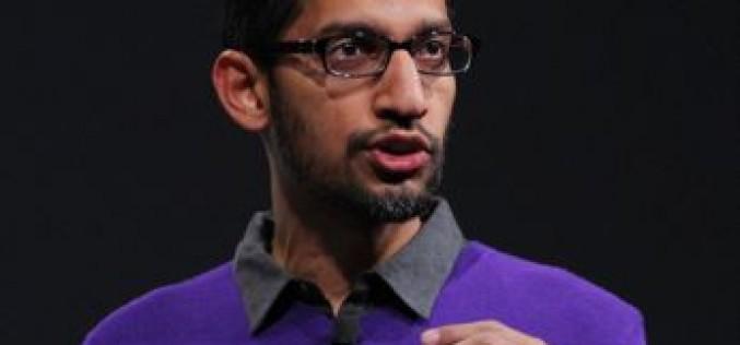 """Sundar Pichai: """"L'intelligenza artificiale è importante tanto quanto la scoperta del fuoco"""""""