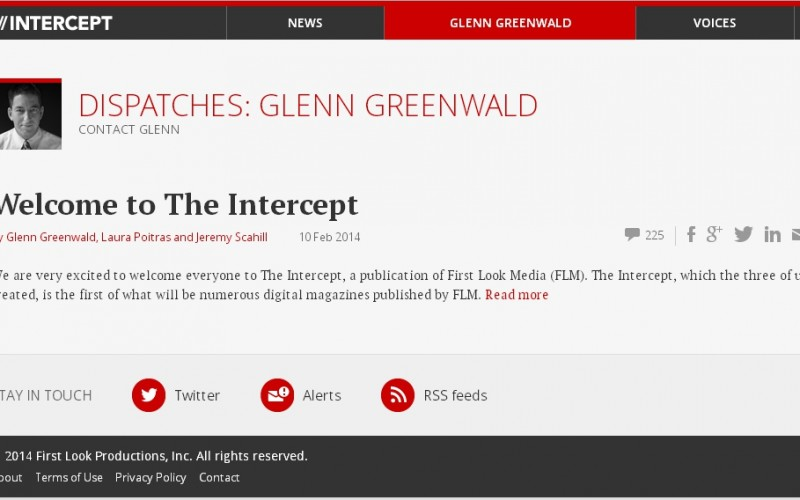 The Intercept: Glenn Greenwald racconta il Datagate