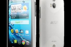 Acer presenta al MWC 2013 gli smartphone Liquid E1 e Z2
