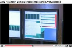 """AMD: video dimostrazione dei nuovi """"INSTANBUL"""" a 6 CORE"""