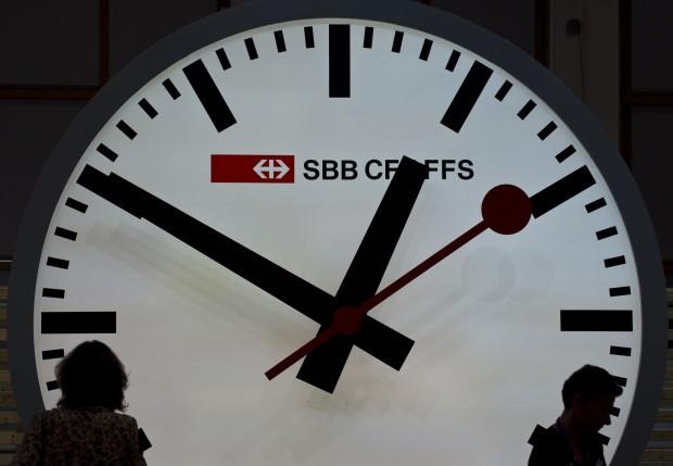 orologio ferrovie svizzere