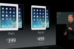 Apple: ecco iPad Mini 2, iPad Air e OS X Mavericks gratuito