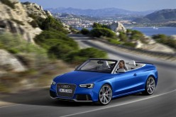 Audi RS 5 Cabriolet: sportività a cielo aperto