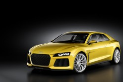 Audi Sport quattro concept in mostra al Salone di Francoforte 2013