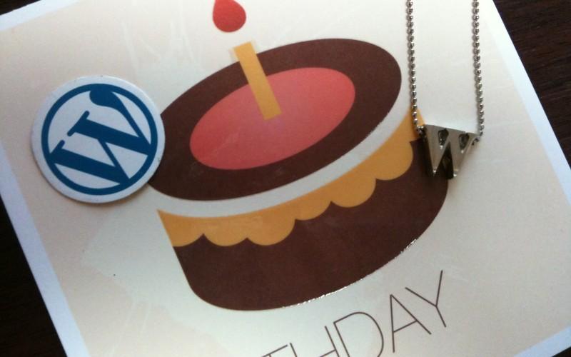 Auguri WordPress! 10 anni di blog per tutti