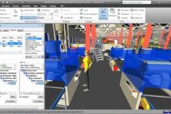 Autodesk Factory Design Suite permette ai produttori di creare digitalmente un intero impianto industriale