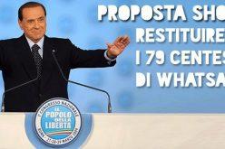 Berlusconi: restituirò l'IMU. La Rete si infervora
