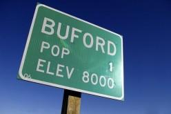 Buford, all'asta la città con un solo abitante