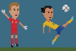 Calcio e grafica: l'arte degli 8 bit