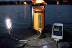 CampStove: ricaricare l'iPhone con l'acqua bollente