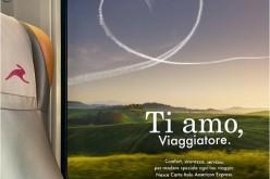 """Carta Italo American Express """"Nata per amare chi viaggia"""""""