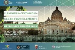 Al via a Roma il Cleanweb Hackathon
