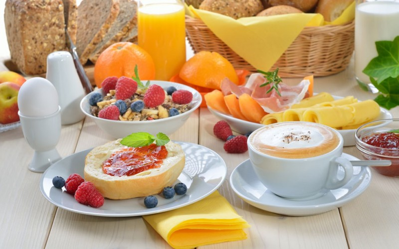 La colazione è un pasto amico del cuore
