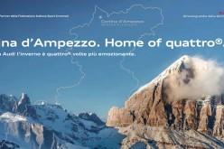 Cortina d'Ampezzo e Audi: rinnovata la partnership con la nuova campagna promozionale