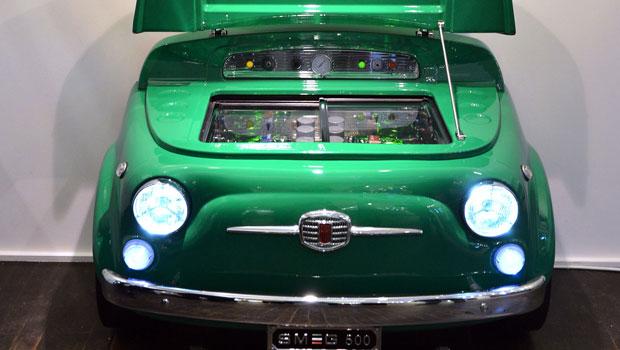 Design Smeg E Fiat Trasformano La 500 In Un Frigorifero Data