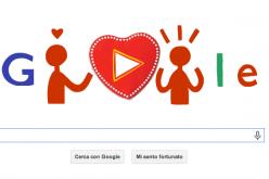 Doodle di San Valentino, cioccolatini virtuali da regalare