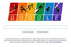 Google, doodle arcobaleno e carta olimpica per i diritti dei gay