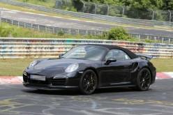 Ecco le prime immagini della Porsche 911 Turbo Cabriolet 2014