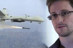 """Edward Snowden: """"La NSA ha usato i droni per eliminare i terroristi"""""""