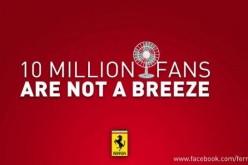 Ferrari in pole su Facebook: festa per i 10 milioni di fan