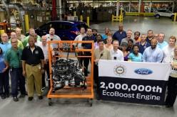 Ford EcoBoost a quota 2 milioni: domanda globale in crescita per i motori dei record