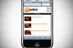 GDpoker TV: nuova App per iPhone