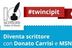 Gli aspiranti scrittori si incontrano su MSN.it con l'iniziativa #twincipit