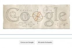 Google celebra Eulero con un doodle