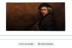 Google celebra l'anniversario della nascita di Rembrandt con un doodle
