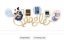 Google dedica un doodle a Ada Lovelace