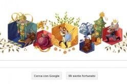 Google dedica un doodle allo Schiaccianoci di Čajkovskij