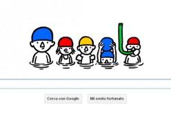 Google festeggia l'arrivo dell'estate con un doodle